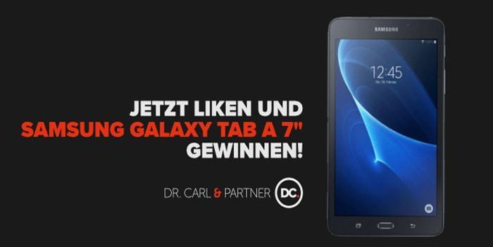 """Facebook Gewinnspiel: Samsung Galaxy Tab A 7"""""""