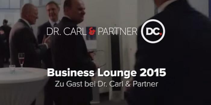 Video: Eindrücke von der Business Lounge im April 2015
