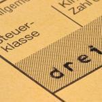 Mehrmaliger unterjähriger Wechsel der Steuerklasse ist unzulässig