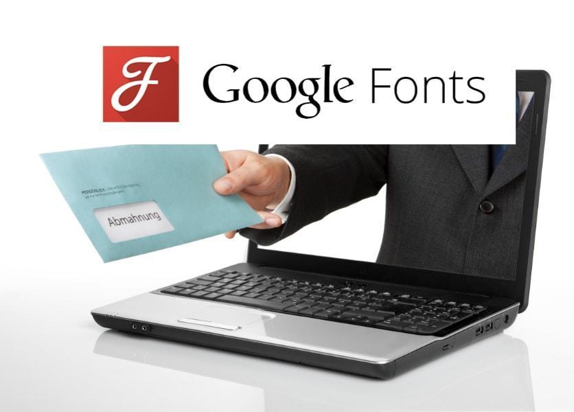 """Abmahnung aufgrund """"Google Web Fonts""""?"""