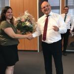 Wir gratulieren Frau Anita Stettner zum Betriebsjubiläum