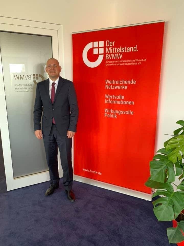Heute sind wir mit unserem Partner Harald Meyer in der Kommission für Internet u...