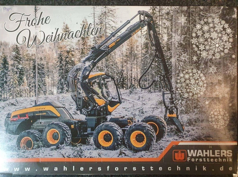 Advent, Advent - vielen Dank an Ponsse Deutschland - Wahlers Forsttechnik GmbH &...