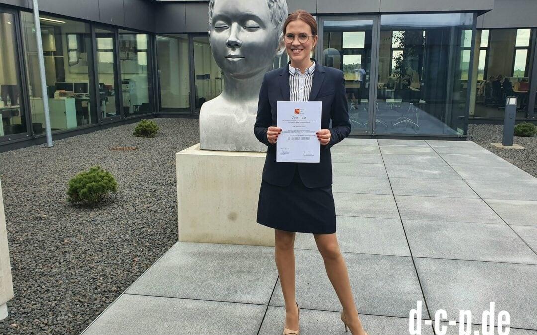 Wir gratulieren unserer Partnerin, Frau Rechtsanwältin Nicolina Braun, zur besta…