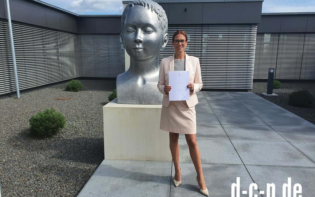Unsere Partnerin, Frau Rechtsanwältin Nicolina Braun, ist nunmehr Fachanwältin f...