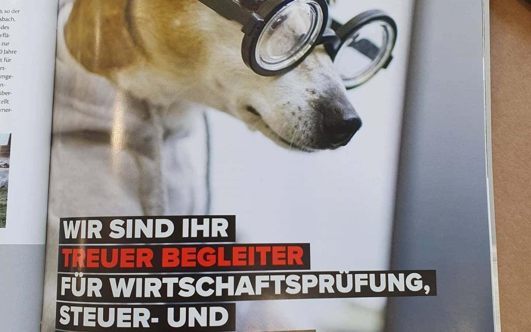 Unsere aktuelle Anzeige im Tierheimmagazin. Besten Dank an die Farbenfeuer GmbH …