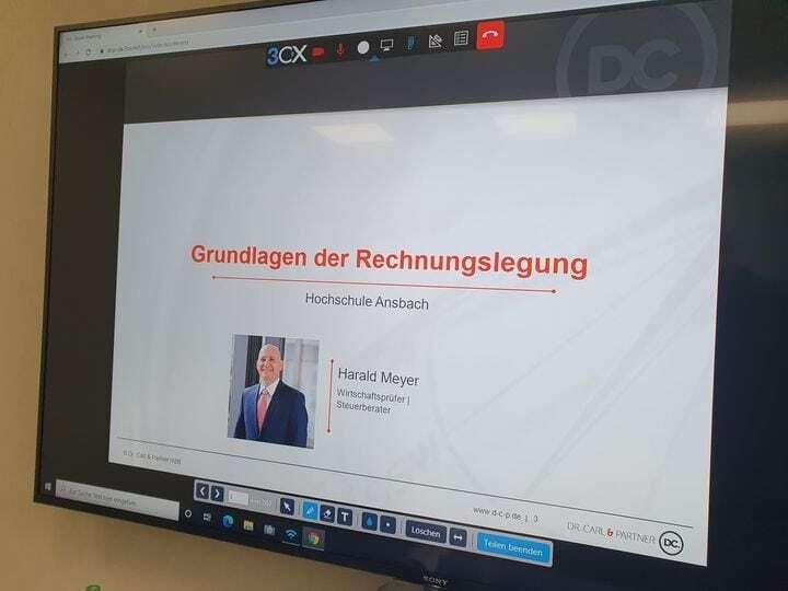 Unser Partner, Herr Wirtschaftsprüfer und Steuerberater Harald Meyer, hielt heut...