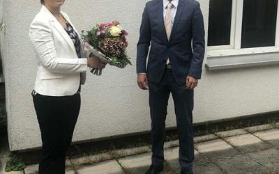 Herzlichen Glückwunsch an Frau StB Veronika Behlert! Sie ist unsere neue Niederl...